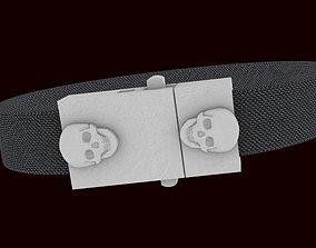 CASTLE BOX-BUTTERFLY SKULL 3D printable model