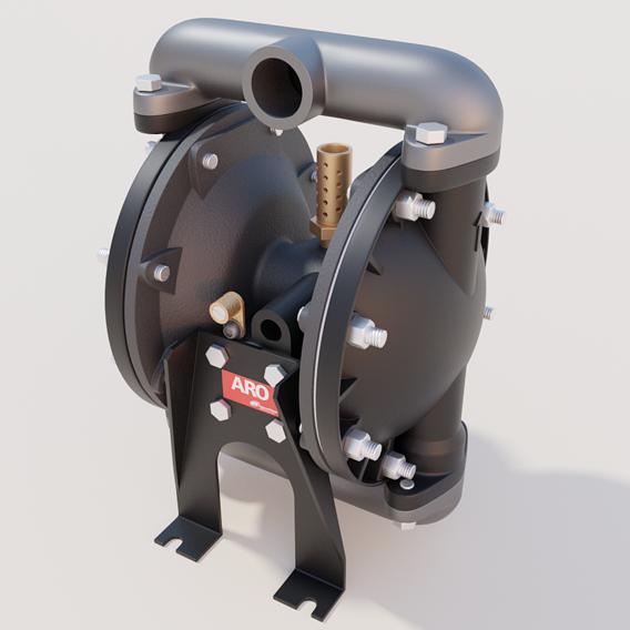 Petroleum pump   Industrial design