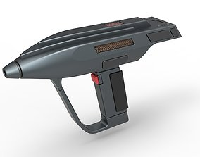 Romulan Phaser pistol from Star Trek The Next 3D model