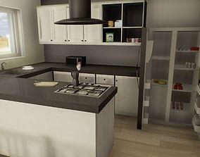 Low Poly House MegaPack 3D model
