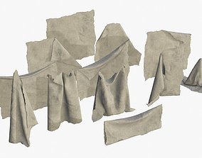 Old Fabric Cloth Assets 02 realtime