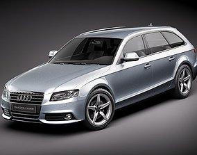3D Audi A4 Avant 2010