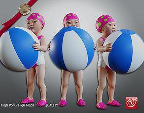 Swimmingpool Child Female AAS 0203 004 3D model