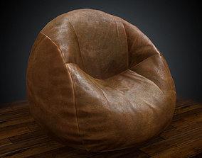 Bean Bag 3D model realtime