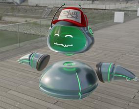 3D model Assistant Droid