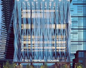 101 MEADE TOWER - VRayforC4D Scene Files 3D