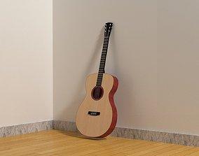 game-ready 3D Guitar