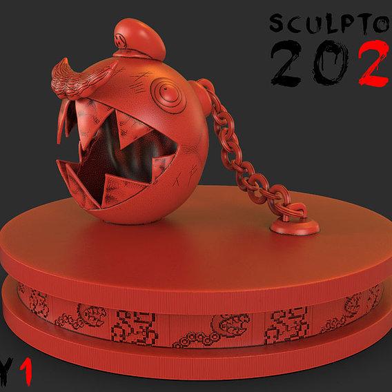 Sculptober 2020 Day 01