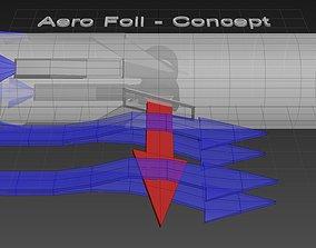 Aero Foil - Airwing Concept 3D