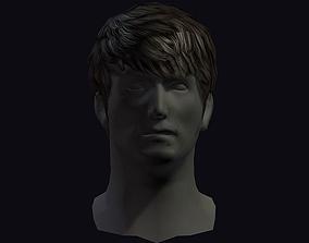 hair style 19 3D model