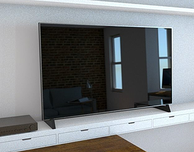Generic 65inch TV 3D model