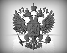 3D Gerb RUSSIA