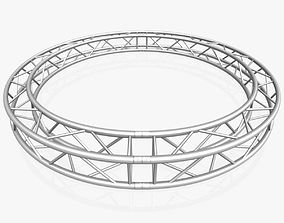 Circle Square Truss - Full diameter 3D model