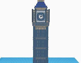 wallclock 3D printable model BIG BEN