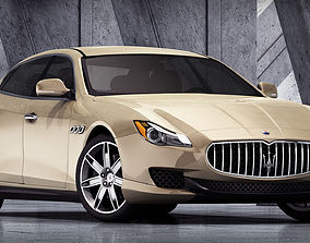 Maserati Quattroporte 2015 3D model