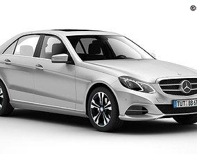 3D Mercedes E Class 2014