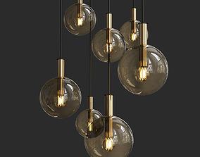 3D model Pendant Lighting Modern and Classic Pendants