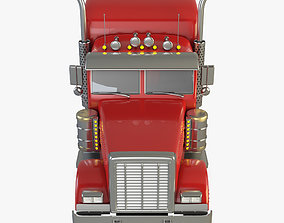 3D model kenworth Peterbilt Truck