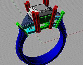 3D printable model Trilogy princess and trillant Trilogy 1