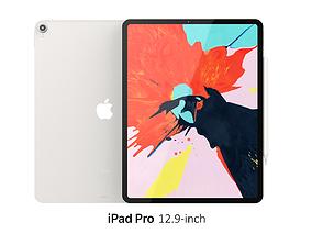 3D iPad Pro 12 9-inch Silver