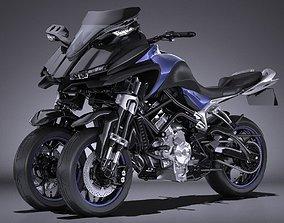 Yamaha MWT 9 2016 3D asset