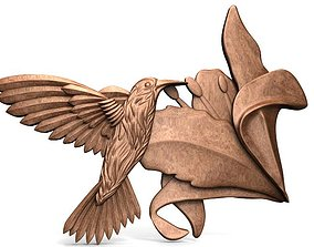 3D printable model Hummingbird CNC 3
