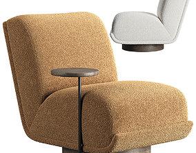 Bronwyn Swivel Chair 3D model