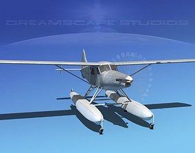 DHC-2T Turbo Beaver Bare Metal 3D model