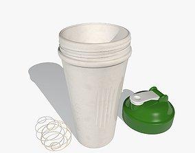 3D model Green Sports Shaker Cup