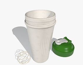 3D model Green Sports Shaker Cup