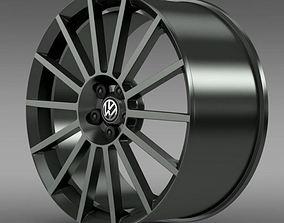 3D model VW Polo R WRC Street rim