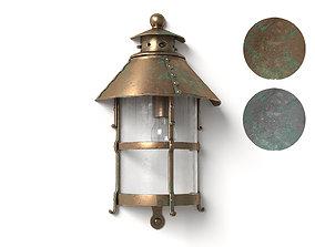 3D model Antique Outdoor Lamp bronze