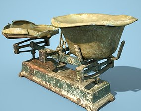 Old Rusty Scale 2 3D asset