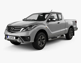 3D Mazda BT-50 Freestyle Cab 2018