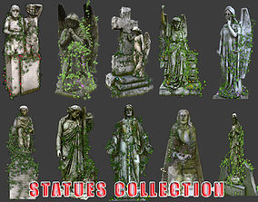 Statues Collection 01 3D model VR / AR ready