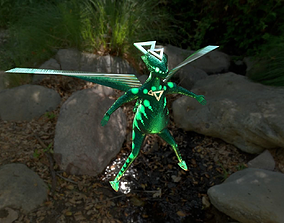 3D model Angel of insects