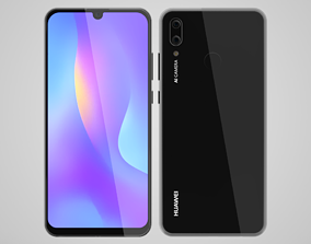 3D phone Huawei P Smart 2019 Black
