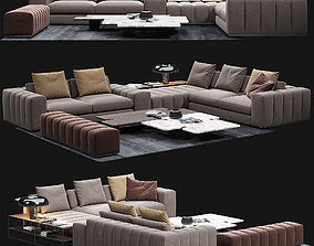 Minotti freeman seating system 3D