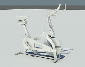 Exercise cycle gym 3D asset