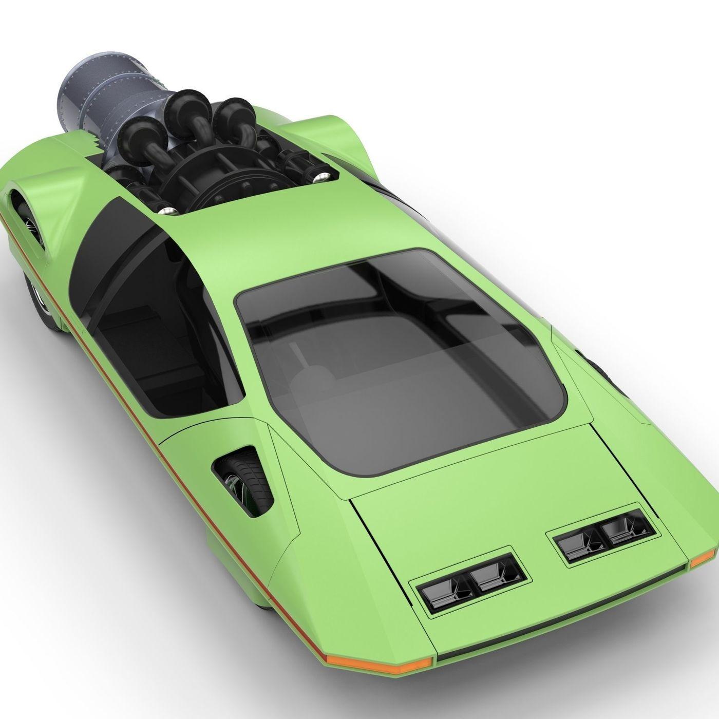 Jet Ferrari 512S Modulo Pininfarina Concept