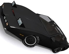 Knight Industries Two Thousand KITT 3D asset