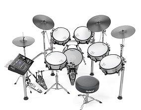 Roland TD30 electronic drums set 3D model