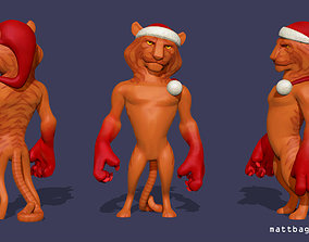 Santa Claws 3D print model