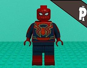 3D Lego Spider-Man Infinity war