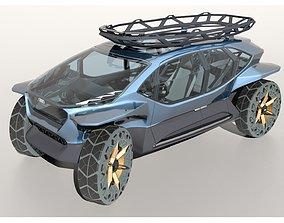 3D model Audi AI Trail
