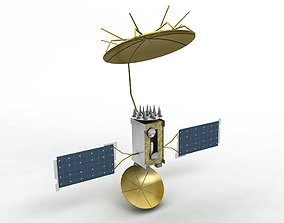 MUOS Satellite Mobile User Objective System 3D asset