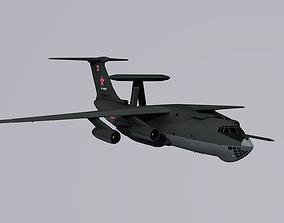 3D asset Russian Beriev A-50