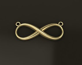 3D print model Infinity Pendant Large Size 29mm WIDTH