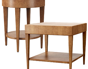 3D model Catalina Side Tables by HBF furniture
