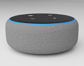 3D model Amazon Echo Dot 3rd - Alexa - PBR - High Quality